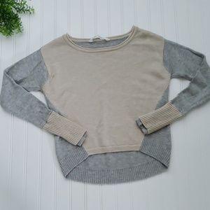 Athleta Merino Wool High Low Yoga Sweater XXS